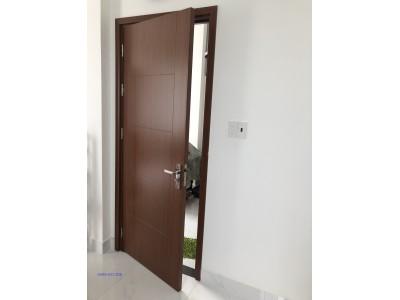 Mẫu cửa nhựa giả gỗ composite dùng cho cửa phòng ngủ và phòng tắm đẹp chất lượng !